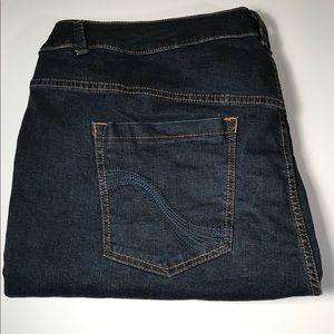 Lane Bryant skinny denim jeans, size 26 AVG